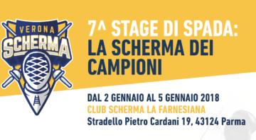 7^ Stage Di Spada: La Scherma Dei Campioni