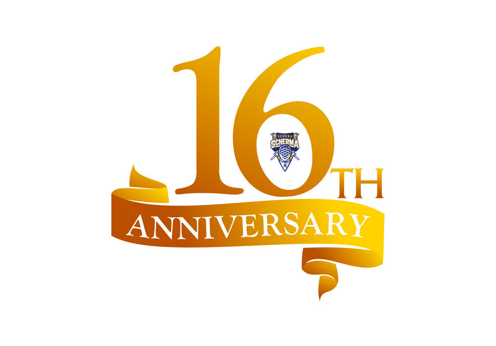 16 Year Ribbon Anniversary